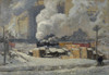 Giclee prints of Tracks and Traffic by J. E. H. MacDonald