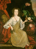 Art Prints of Young Woman with a Butterfly by 18th Century American Artist