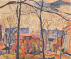 Art Prints of A Fall Day by Abraham Manievich
