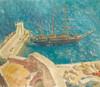Art Prints of View of Port Calvi, France by Alexander Evgenievich Yakovlev