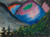 Art Prints of Coloured Mountain in the Valley by Alexej Von Jawlensky