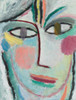 Art Prints of Head of a Woman, Femina by Alexej Von Jawlensky