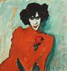 Art Prints of Portrait of the Dancer Aleksandr Sakharov by Alexej Von Jawlensky