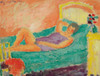 Art Prints of Reclining Girl by Alexej Von Jawlensky
