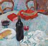 Art Prints of Still Life with Wine Bottle by Alexej Von Jawlensky