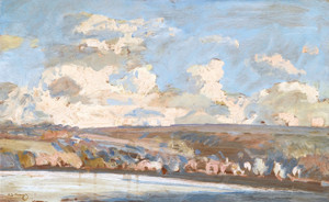Art Prints of Valley in Winter by Alfred James Munnings