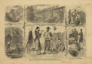 Art Prints of In and about the Army of Potomac, July 1862 (21022L) by Alfred Waud