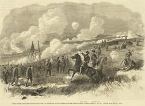 Art Prints of Colonel Burnside's Brigade at Bull Run, 1861 (22443L) by Alfred Waud
