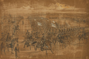 Art Prints of The Cavalry of the Army of the Potomac, 1863 (22450L) by Alfred Waud