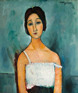 Art Prints of Christina by Amedeo Modigliani