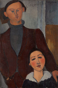 Art Prints of Jacques and Berthe Lipchitz by Amedeo Modigliani