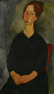 Art Prints of Little Servant Girl by Amedeo Modigliani