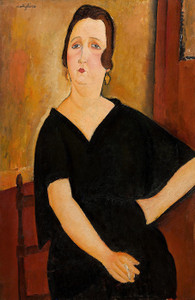 Art Prints of Madame Amedee by Amedeo Modigliani