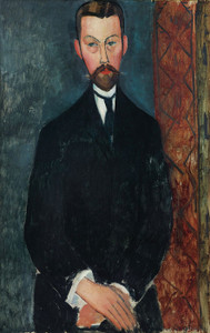 Art Prints of Portrait of Paul Alexandre by Amedeo Modigliani