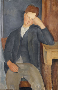 Art Prints of The Young Apprentice by Amedeo Modigliani
