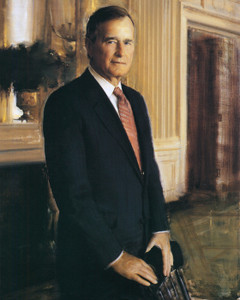Art Prints of George Herbert Walker Bush, Presidential Portraits