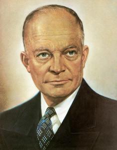 Art Prints of Dwight D. Eisenhower, Presidential Portraits