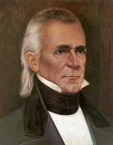 Art Prints of James Polk, Presidential Portraits