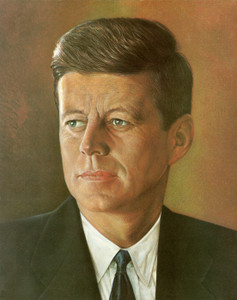 Art Prints of john F. Kennedy, Presidential Portraits
