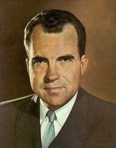 Art Prints of richard Nixon, Presidential Portraits