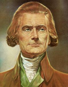 Art Prints of Thomas Jefferson, Presidential Portraits