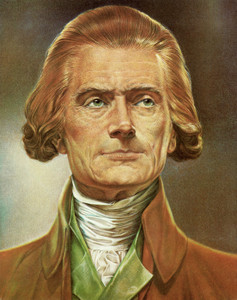 Art Prints of Thomas Jefferson, Presidential Portraits