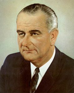 Art Prints of Lyndon B. Johnson, Presidential Portraits