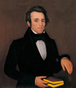 Art Prints of Gentleman in a Black Cravat by Ammi Phillips