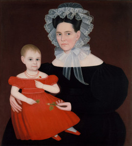 Art Prints of Mrs. Mayer and Daughter by Ammi Phillips