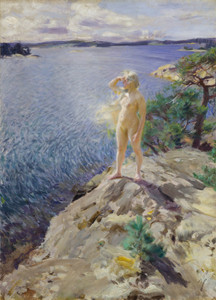 Art Prints of In the Skerries by Anders Zorn