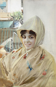 Art Prints of Mathilde by Anders Zorn