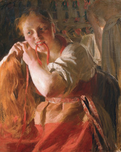 Art Prints of Margit by Anders Zorn