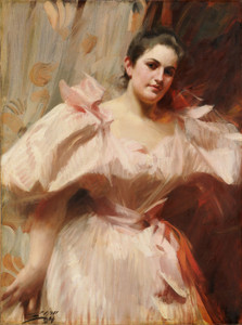 Art Prints of Portrait of Frieda Schiff by Anders Zorn