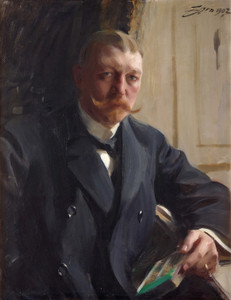 Art Prints of Portrait of Franz Heiss by Anders Zorn