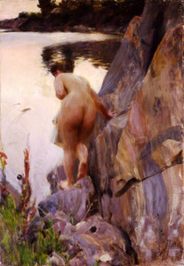Art Prints of Summer Evening by Anders Zorn