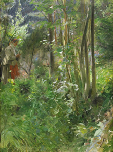 Art Prints of Sun in the Forest, 1907 by Anders Zorn