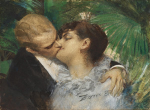 Art Prints of The Embrace, 1882 by Anders Zorn