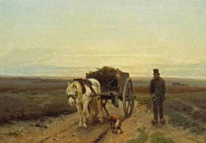 Art Prints of Going Home by Anton Mauve
