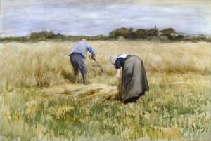 Art Prints of The Corn Harvest by Anton Mauve