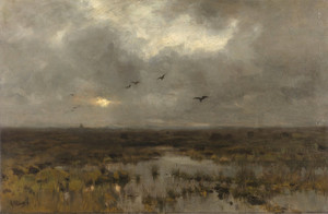 Art Prints of The Swamp by Anton Mauve