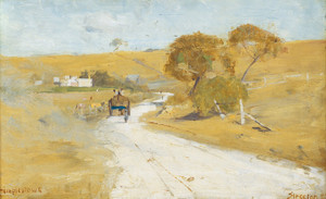 Art Prints of At Templestowe by Arthur Streeton