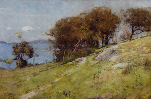 Art Prints of Cremorne Pastoral by Arthur Streeton