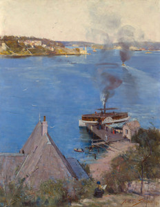 Art Prints of From McMahons Point, Fare One Penny by Arthur Streeton