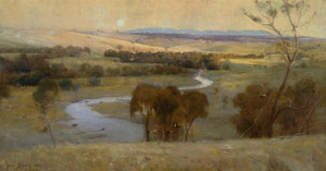Art Prints of Still Glides the Stream and Shall Forever Glide by Arthur Streeton