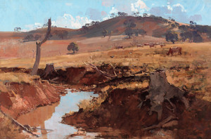 Art Prints of The Creek by Arthur Streeton