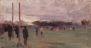 Art Prints of The National Game by Arthur Streeton