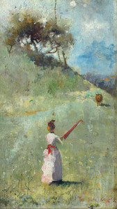 Art Prints of The Fatal Colors by Arthur Streeton