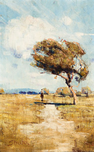 Art Prints of The Lone Rider by Arthur Streeton
