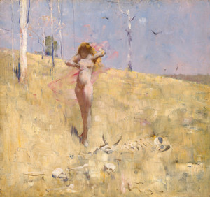 Art Prints of The Spirit of the Drought by Arthur Streeton