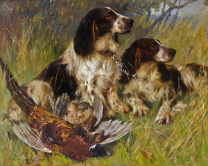 Art Prints of End of the Day by Arthur Wardle